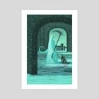 Crossbreed Priscilla - Art Print by Daniel Shaffer