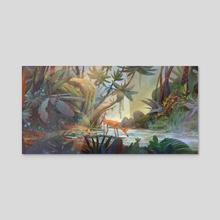 Rainforest - Acrylic by Leif Yu