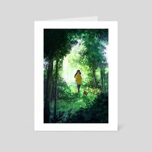 After The Rain - Art Card by Yaoyao Ma Van As