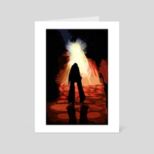 The Hollows - Art Card by Delaney Greaves