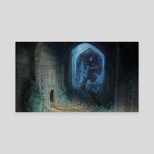 Solitude - Canvas by Alexandra Peysakhovich