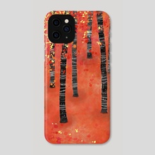 Birches - Phone Case by Nic Squirrell
