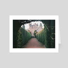 Enchanted Castle - Art Card by Jo Willowtails