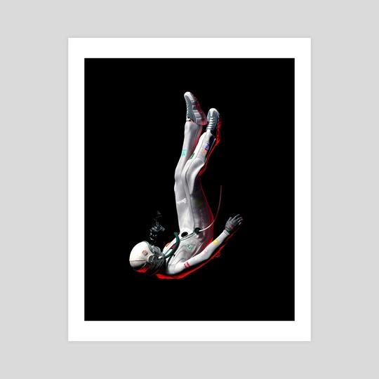 Lost Astronaut  by Suvam