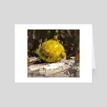 Lemon - Art Card by Mostafa Keyhani