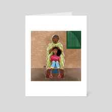 Haboba - Art Card by Maha Yassin
