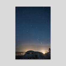 Stars - Canvas by Jonas G Wilhelmsen