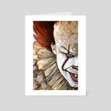Pennywise II - Art Card by Grant Cooley