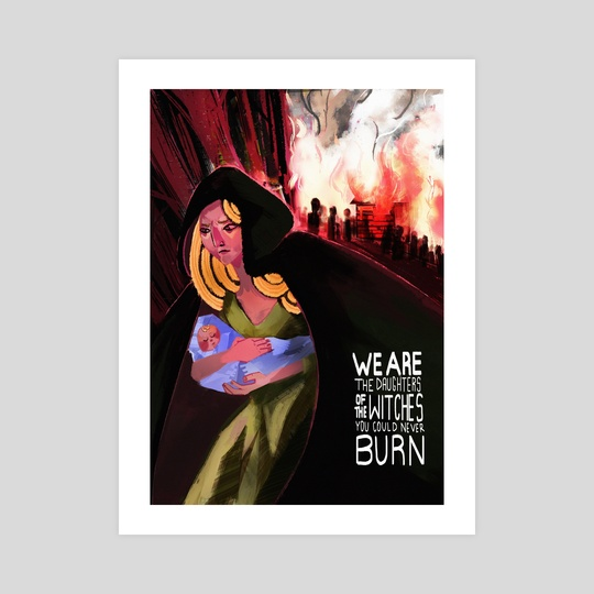 The Witches You Couldn't Burn by Dáire  Lawlor