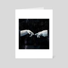 Star Crossed Love - Art Card by Amanda Corbett