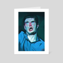 Ian Curtis - Art Card by Brad Collins