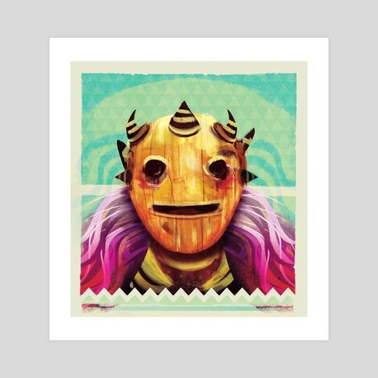 Happy Mask by AJ Estrada