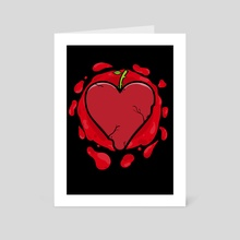 Old Heart. - Art Card by Sergio Galicia