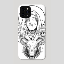 Eve | INK Edition - Phone Case by Kacper  Gilka