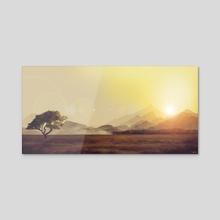 Journey - Acrylic by Onur Bakar