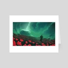 Black Garden - Art Card by Gammatrap