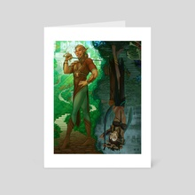Cycles - Art Card by Jimmie Dancer