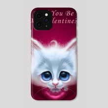 Be my Valentine - Phone Case by Alexander Novoseltsev