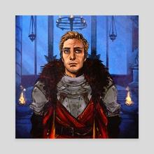 Advisor Cullen - Canvas by Ria Martinez