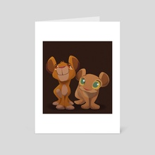 LIttle Troublemakers - Art Card by Beth Hughes