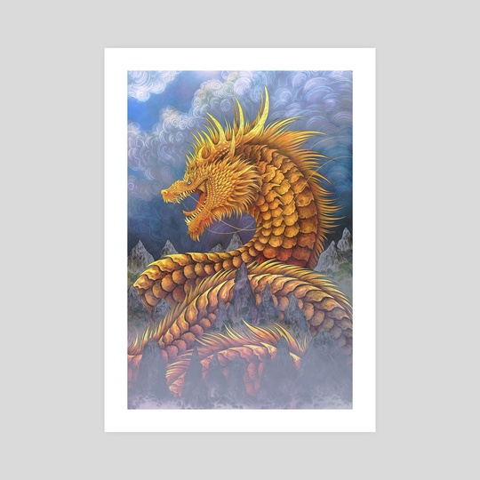 Huang He River Dragon by Cerid Ellis