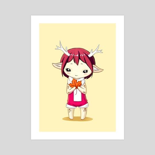 Deer Girl by Indré Bankauskaité