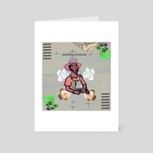 JPEGMAFIA - Art Card by Solar Broccoli