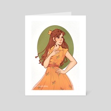 Rose - Art Card by Thesleepingfoxy