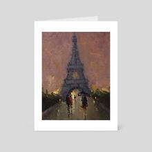 Paris collection - Art Card by Mostafa Keyhani