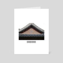 (Mini-cut) Octagon Palace  - Art Card by John Jackson