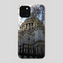 St. Paul's Cathedral - Phone Case by georgia.nna
