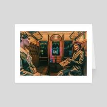 Ladies only - Art Card by Valérie KARAKATSANIS