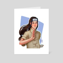 Neji Hyuga - Art Card by Diana Matisova
