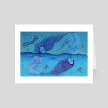 Undercurrents - Art Card by kristal melson