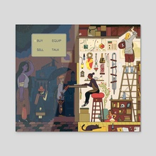 Thirteen Rules - Acrylic by Sophia Foster-Dimino