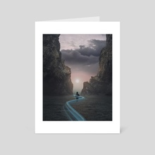 Trails of memory - Art Card by D4RK