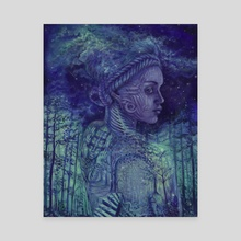 Psyche - Canvas by Tennessee Charpentier