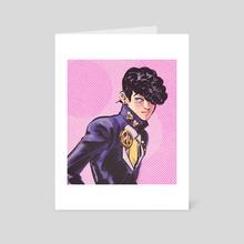 josuke - Art Card by Fatima Wajid