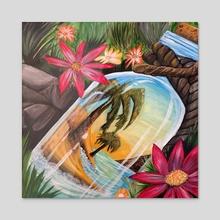 Hidden Treasure - Acrylic by adam santana