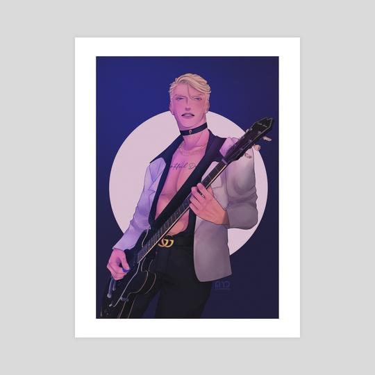 Guitarist Prosciutto by daohiwa