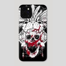 Jaguar God Trve - Phone Case by Pablo Torres