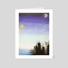 In a Perfect World - 2 - Art Card by Rylan Bacsenko