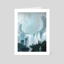 "Rite Of Passage - Art Card by Veli ""Vablo"" Nyström"