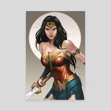 WonderWoman - Canvas by M