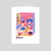 funky 80s - Art Card by Yura Moonbow