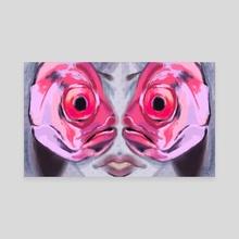 Dead Eyes - Canvas by Madi Xan