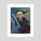 Hero of Time - Art Print by Alyssa Spector