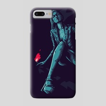 The flame - Phone Case by Christophe Starace