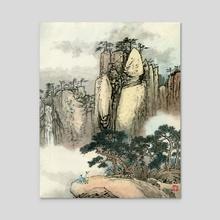 Landscape - 47 - Acrylic by River Han