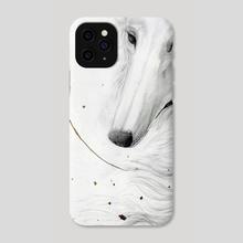 Borzoi - Phone Case by Kelshray